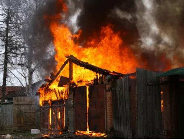 Мужчина умер вовремя пожара вРостове-на-Дону