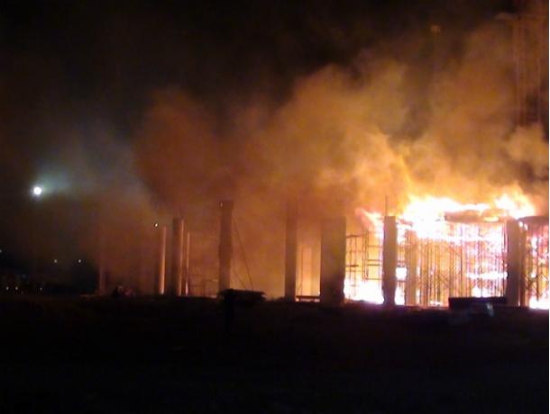 ВШахтах в итоге пожара умер человек