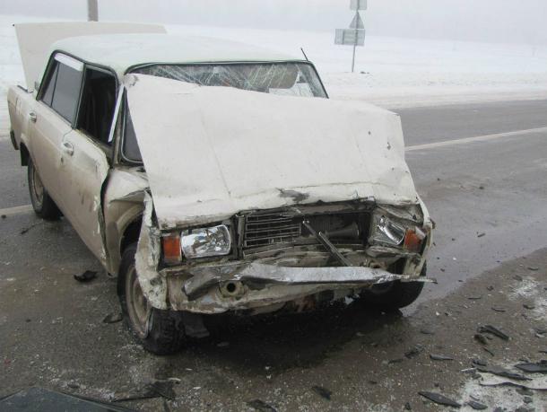 Горе-угонщик разбил украденную «семерку» под Ростовом и сбежал