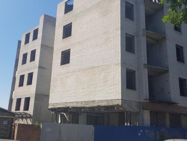 Власти Ростова через суд хотят снести недостроенный жилой дом в центре города