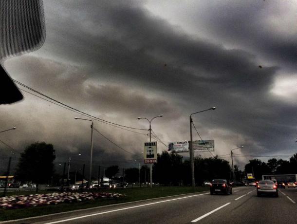 Дождливая и пасмурная погода ожидает жителей Ростова в этот вторник