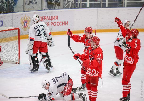 ХК «Ростов» вышел в финал Кубка Федерации