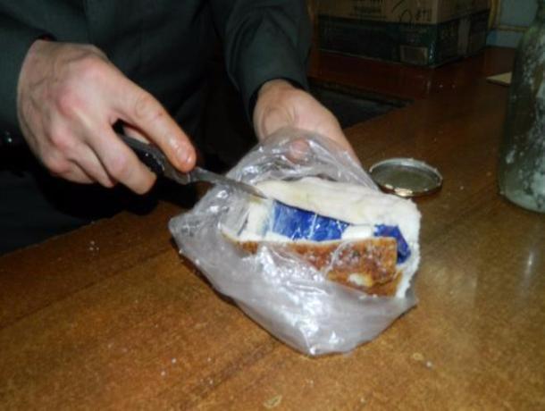 Вколонию Ростова пытались передать телефон вкуске сала