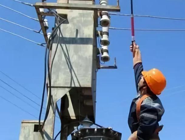 Жителям семи ростовских улиц до конца месяца придется обходиться без электричества