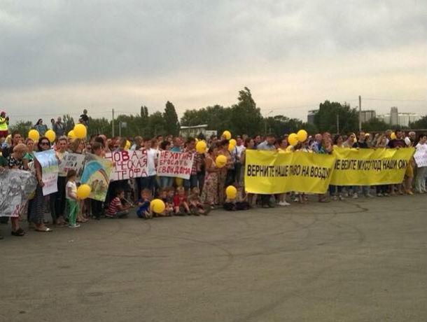 Ростовчане выйдут на митинг против строительства мусорного завода в Левенцовке