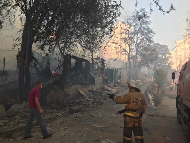 Пострадавший отпожара Ростов-на-Дону получит помощь от руководства  на80 млн руб.