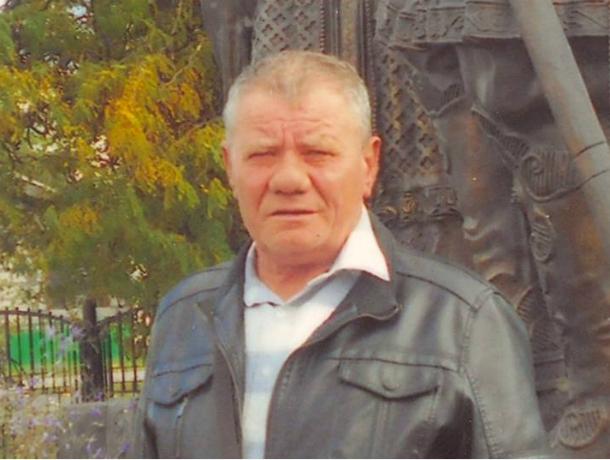 66-летнего мужчину без 3-х пальцев ищут вРостовской области