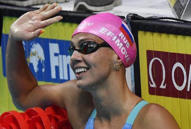 Юлия Ефимова завоевала «серебро» чемпионата мира по водным видом спорта