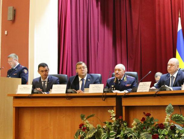 Полицейским представили нового начальника ГУ МВД России по Ростовской области