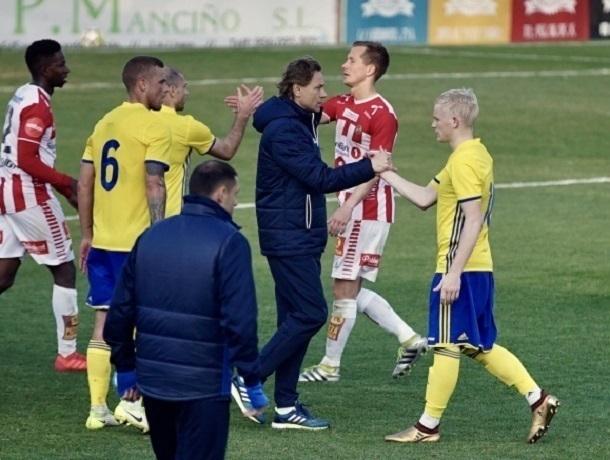 Воспитанник «Ростова» Вебер принес ничью желто-синим в игре с «Тромсе»