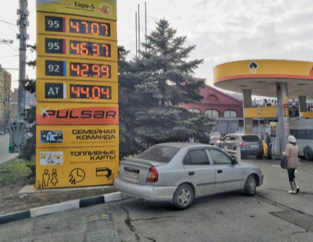 Цены на топливо в Ростовской области не будут расти до июля
