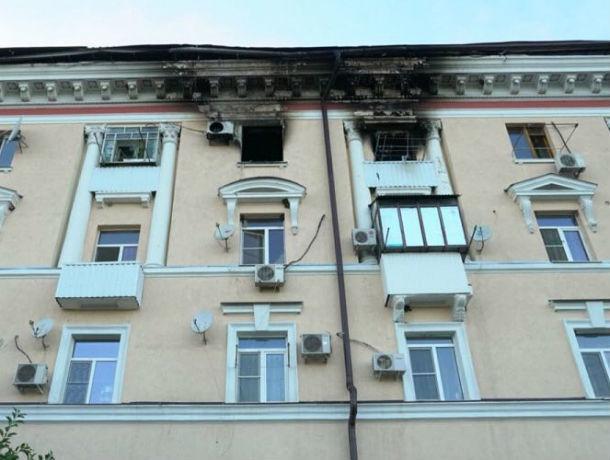 Семьи погорельцев начинают возвращаться в родное пепелище, оставшееся от их квартир в Ростове