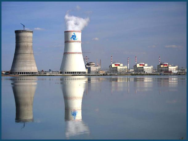 Ростовская АЭС покупает воду за 697 млн рублей