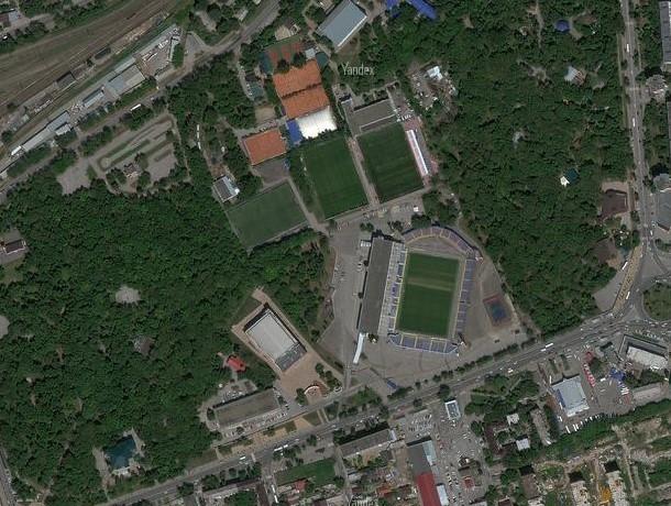 Новый дворец спорта в Ростове не затронет парк Островского