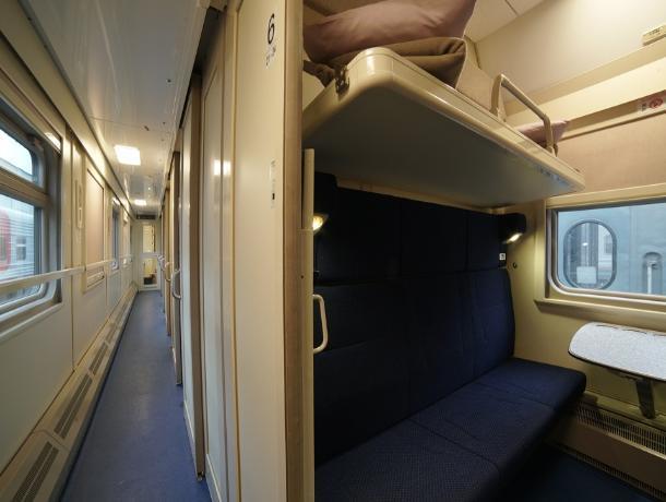 Перевозчик показал, как будут выглядеть поезда из Ростова в Крым