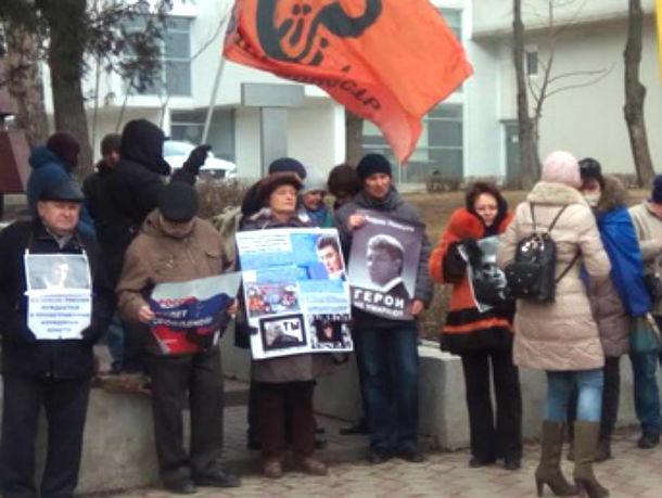 В столице России иЯрославле прошли марши памяти Бориса Немцова