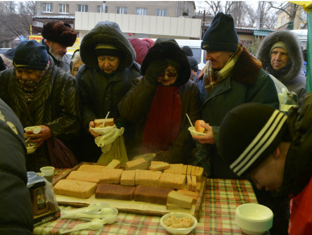 Бесплатная столовая для бездомных откроется в Ростове