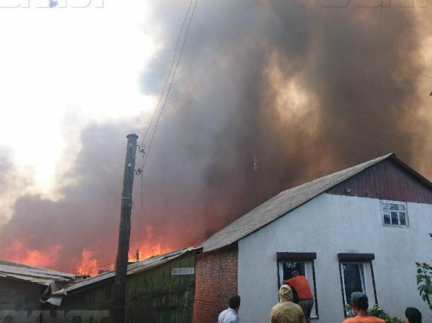 Администрация Ростова: 163 пострадавших вовремя пожара дома подлежат сносу