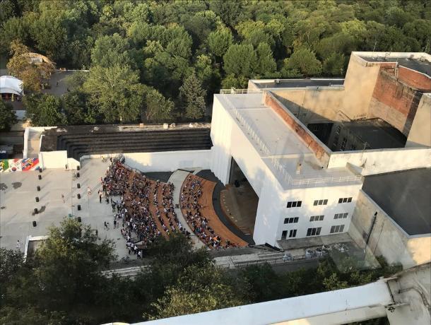 В Ростове возобновляет работу Зеленый театр