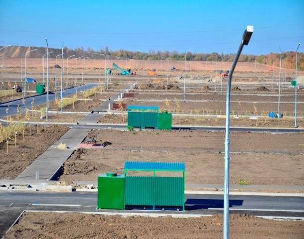 Под Ростовом завершилось строительство нового кладбища