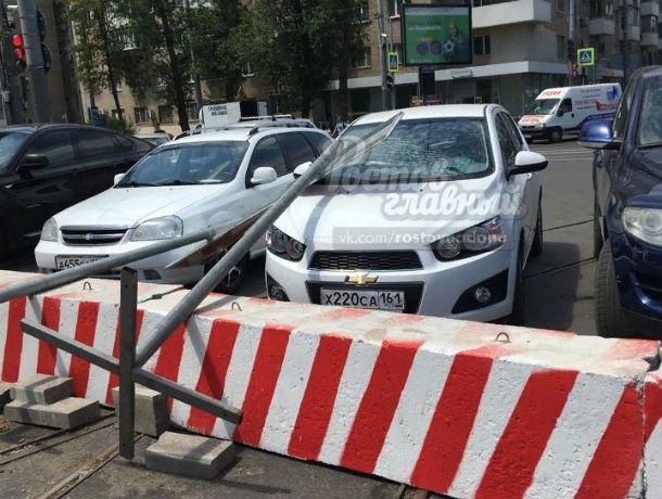 «Знак свыше» получил прямо в лобовое стекло неудачливый автолюбитель в Ростове