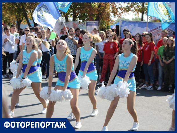 Жители Ростова весело отмечают день города