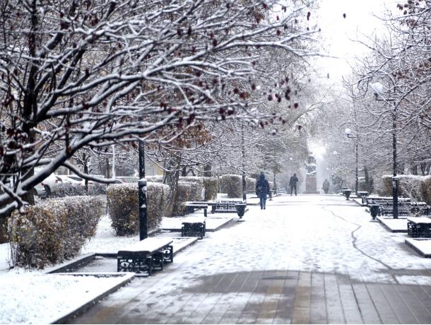 Первый снег в донской столице следует ожидать уже на следующей неделе