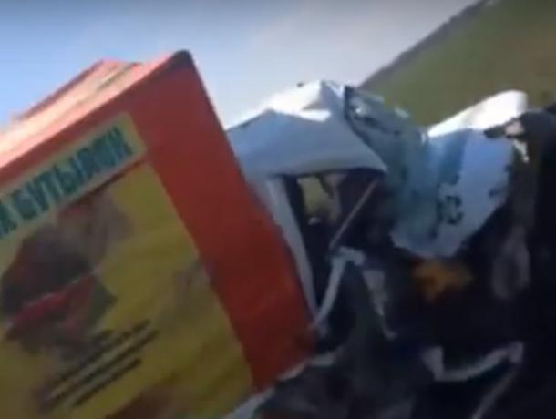 «Удачливый» водитель убил двух «Газелей» на ростовской трассе и попал на видео