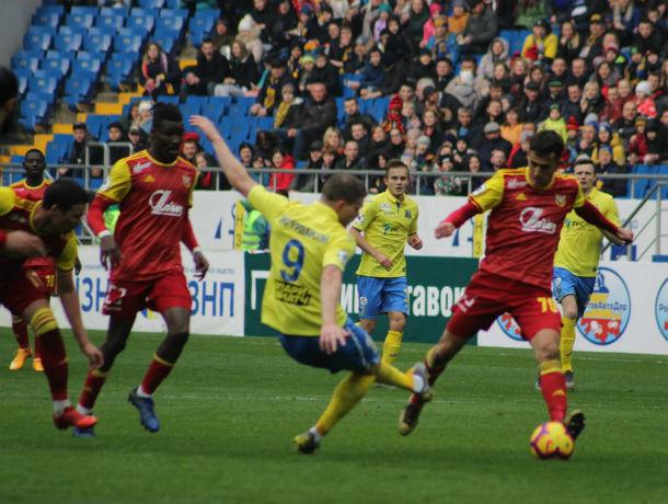 Без единого гола: матч ФК «Ростов» с «Арсеналом» закончился ничьей