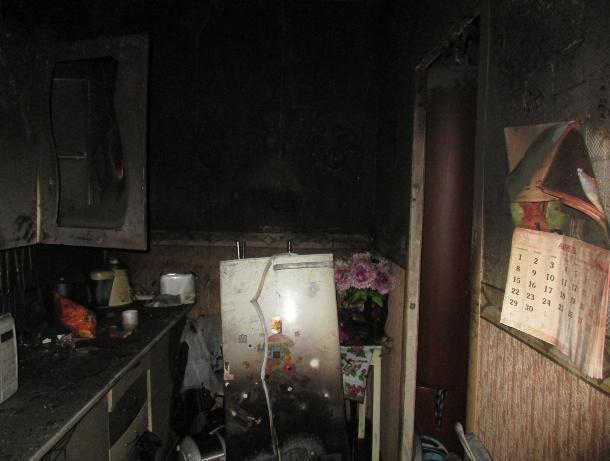 В Ростове мать бросила в горящей квартире четырехлетнего ребенка