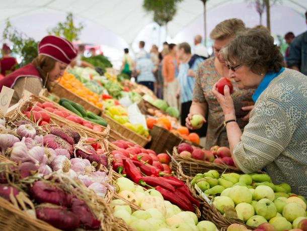 Продовольственная ярмарка пройдет в донской столице