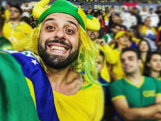 Бразильский болельщик Томер Савойя признался в тоске по Ростову