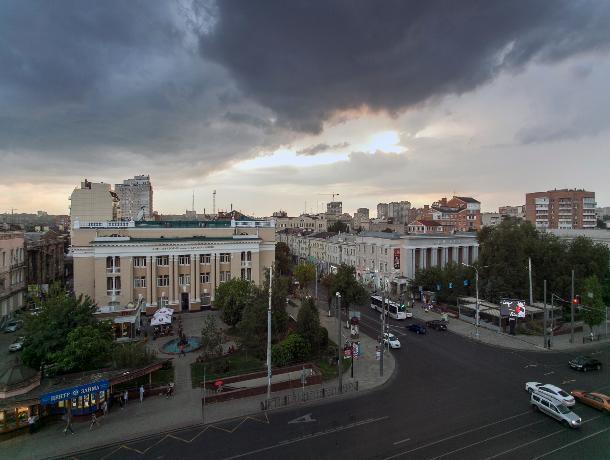 Гром и молнии: погода в Ростове на вторник, 16 июля