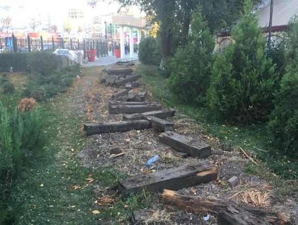 Уничтожением детской железной дороги сокрушены жители Ростова
