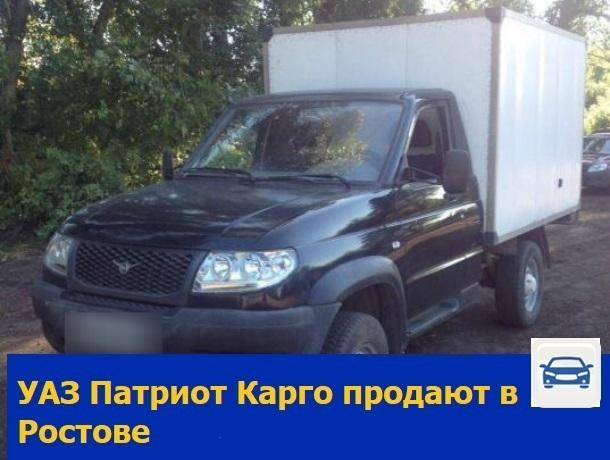 Проходимый УАЗ Патриот Карго продают в Ростове
