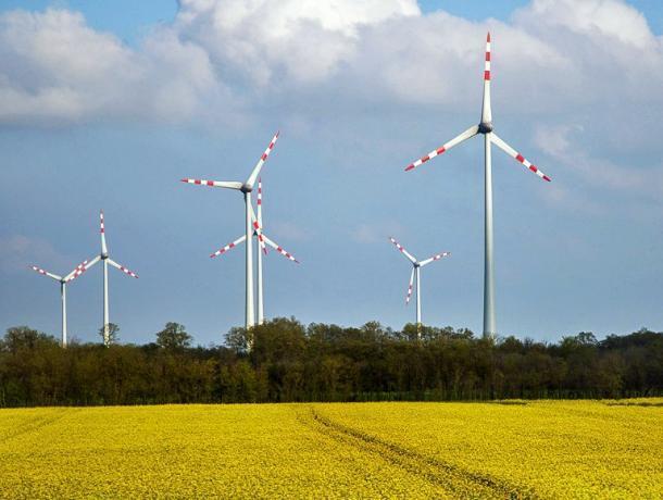 В Ростовской области начали строить ветропарк за 132 млн евро