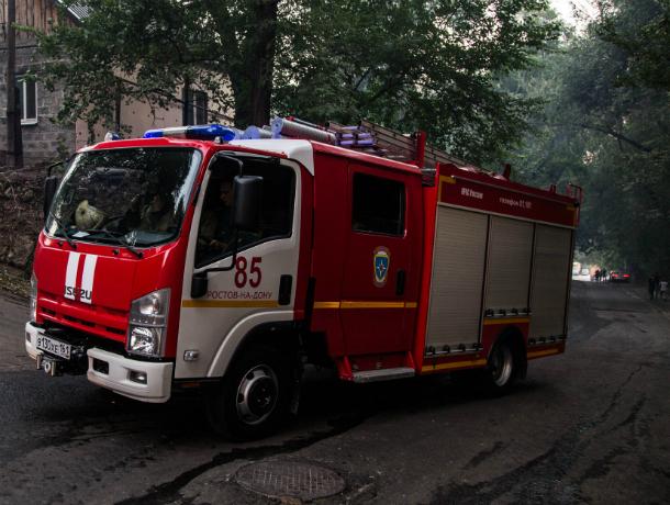 ВРостовской области два человека стали жертвами пожара