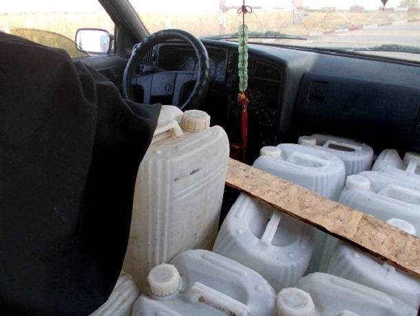 ВРостовской области награнице с Украинским государством задержана партия спирта