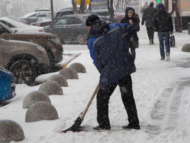 Снег и холодный ветер завершат рабочую неделю в Ростове