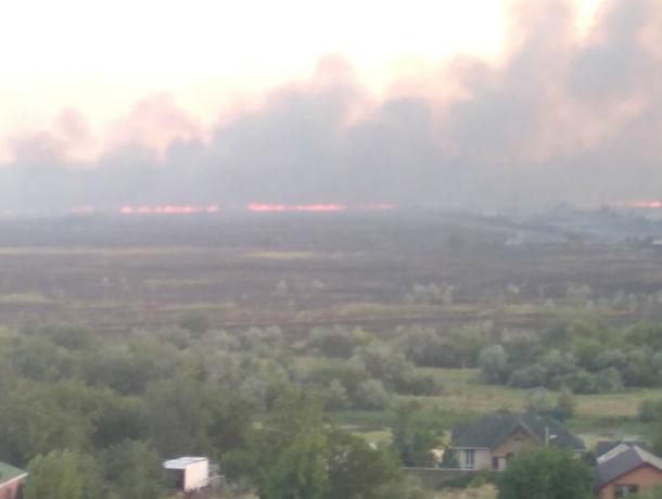 Крупный пожар в Кумженской роще Ростова потушили спустя 17 часов