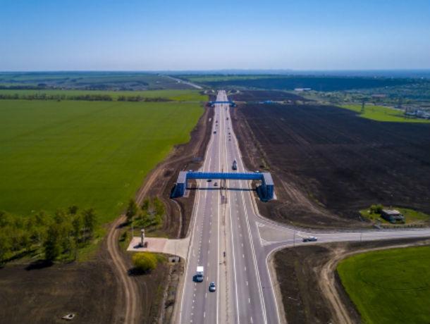Семь километров федеральной трассы отремонтировали на границе Украины и Ростовской области