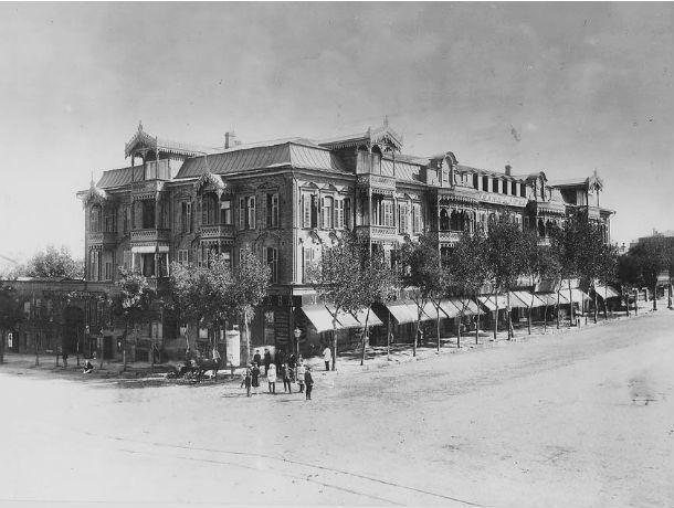 Календарь: 108 лет назад в Ростове сгорела главная гостиница города – Гранд Отель