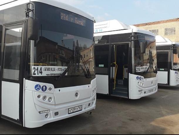 Автобусы из Батайска в Ростов пойдут по Ворошиловскому мосту с 17 мая