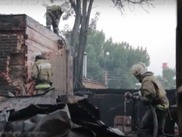 Подозреваемым в деле о поджоге частного сектора Ростова стал рабочий с соседней улицы