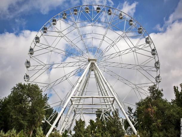 В Ростове могут построить самое большое колесо обозрения в России