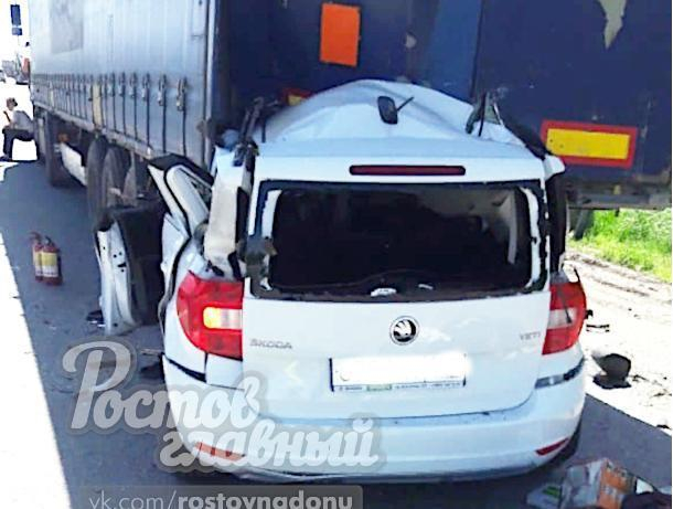 В аварии на трассе М-4 «Дон» погибли два человека