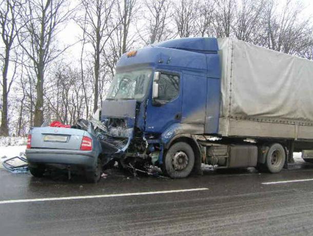 ВДТП с фургоном натрассе Волгоград— Каменск умер мужчина