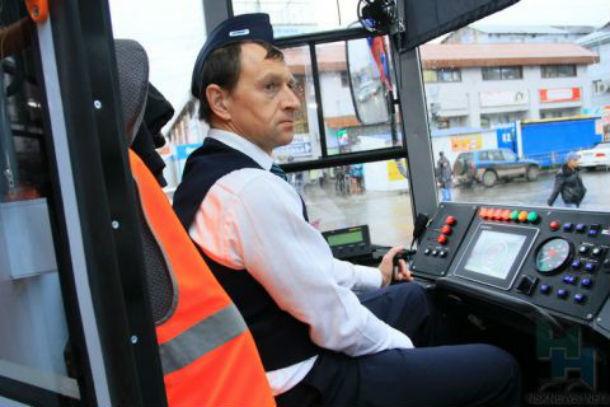 ВТаганроге рецидивист ограбил водителя трамвая