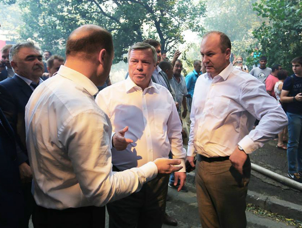 Ростовчане потребовали от чиновников запретить застройку новыми домами на месте пепелища в центре города