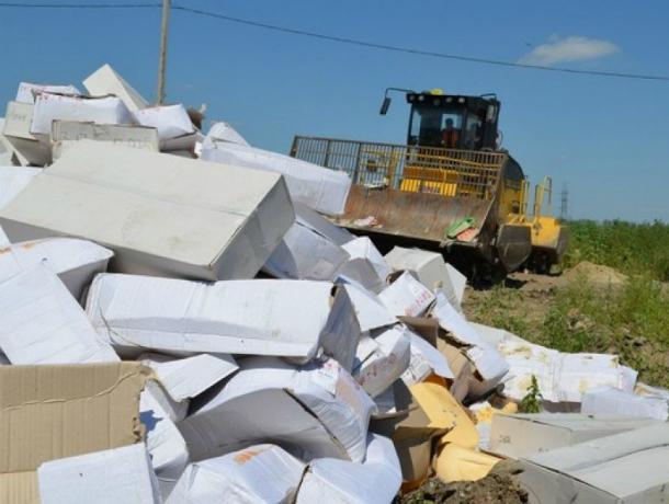 ВРостовской области уничтожили 19,5 тонн рыбы изИсландии